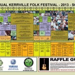 Kerrville Folk Festival 2013 - Magazine Layout and Design - ©CHUCK MILLER Media.com