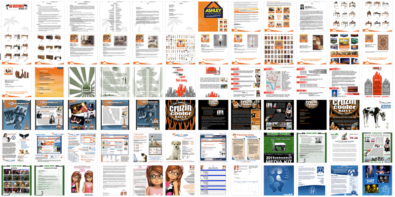 Press Kits, Sales Kits, Media Kit Design - ©CHUCK MILLER Media.com
