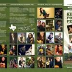 Kerrville Folk Festival Brochure Design - ©CHUCK MILLER Media.com