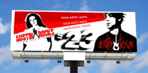 CHUCK MILLER T-shirt Designs - Outdoor Advertising Billboard - ©CHUCK MILLER Media.com