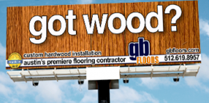 GB Floors, Austin - Outdoor Advertising Billboard - ©CHUCK MILLER Media.com
