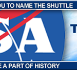 NASA - Name The Shuttle - Web Advertising Design - ©CHUCK MILLER Media.com