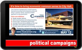 Political Campaigns - ©CHUCK MILLER Media.com