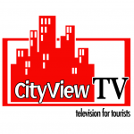 CityView TV - Custom Logo Design - ©CHUCK MILLER Media.com