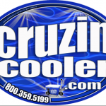 Cruzin Cooler - Sticker & Magnets - ©CHUCK MILLER Media.com