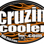 Cruzin Cooler - Magnets & Stickers - ©CHUCK MILLER Media.com