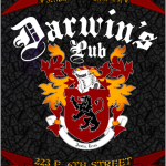 Darwin's Pub, Austin TX - Posters, Signs and Flyer Design - ©CHUCK MILLER Media.com