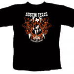 Austin, Texas - T-Shirt Design - ©CHUCK MILLER Media.com