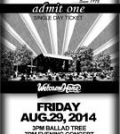 Kerrville Music Festival - Event Ticket Design - ©CHUCK MILLER Media.com