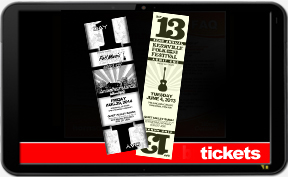 Ticket Design - ©CHUCK MILLER Media.com