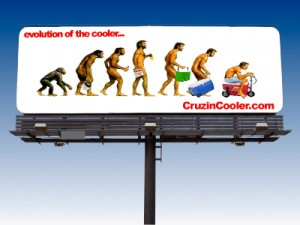 Cruzin Cooler - Outdoor Advertising Billboard - ©CHUCK MILLER Media.com