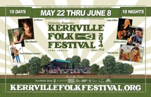 Kerrville Folk Festival 2014 Poster - Posters, Signs and Flyer Design - ©CHUCK MILLER Media.com