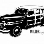 Miller Surf - Custom Logo Design - ©CHUCK MILLER Media.com