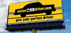 Mr. Cab Driver - Outdoor Advertising Billboard - ©CHUCK MILLER Media.com